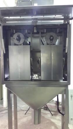 Semi auto scale filler internal